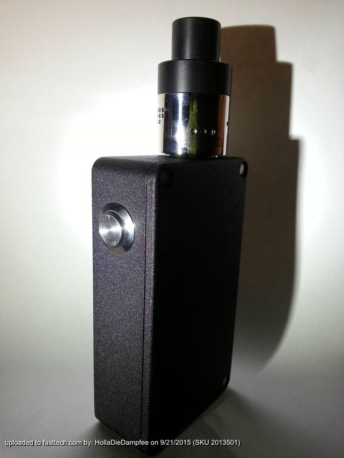 nice for DIY box mod - DIY Spring-loaded Firing Button for